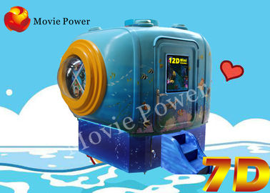 Cina Definisi Tinggi 47 Inch 3D Display 5D Mini Cinema Game Machine pabrik