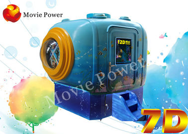 Cina Indah Menarik 3 DOF 5D Mini Cinema 5 D Movie Theater System pabrik
