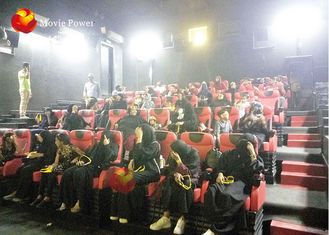 Cina Amazing 4d Cinema Equipment, 4d Motion Chair 2-100 Kursi Tersedia pabrik
