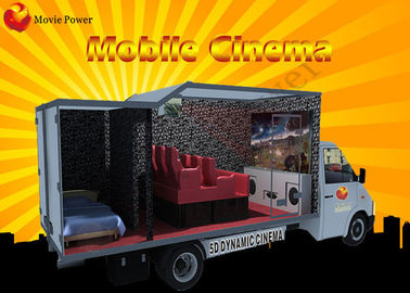 Multipemain 6/9/12 Kursi 7D Movie Theater / Theme Park Truck Mobile 5D Cinema