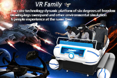 Sistem Home Theater Dinamis 9D VR Cinema Ruang Virtual Simulator Platform Gerak