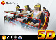 Hydraulic 5d Cinema Dengan Motion Platform 4d Motion Seat 5d Cinema System Movie Equipment pemasok