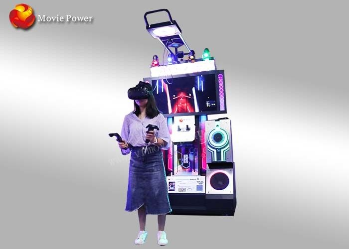 Pendapatan Tinggi Virtual Reality Music Arcade Game Machine Interaktif Dancing Simulator
